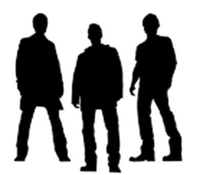 The Boys; Cas, Dean, Sam Vinyl Sticker