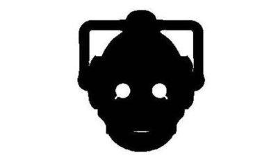 Cyberman Vinyl Sticker