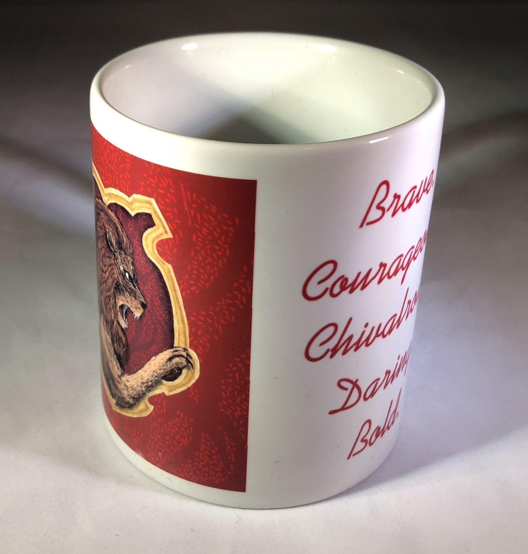 Gryffindor Crest & Traits Coffee Mug