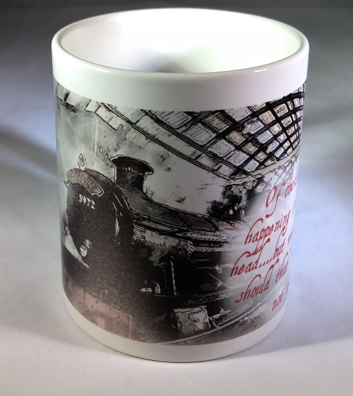 Hogwarts Express & Dumbledore Quote Coffee Mug