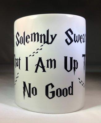 I Solemnly Swear w/Feet Coffee Mug