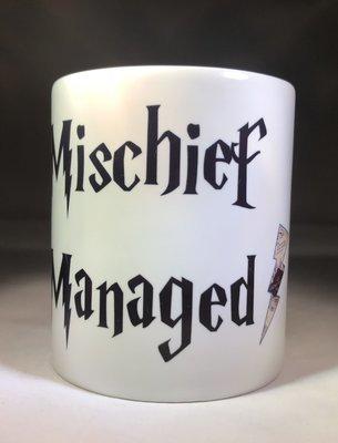 Mischief Managed w/Lightning Bolt Coffee Mug
