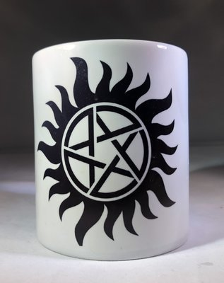 Antipossession Tattoo Coffee Mug