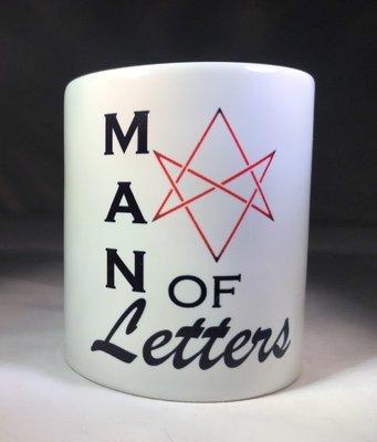 Man of Letters Coffee Mug