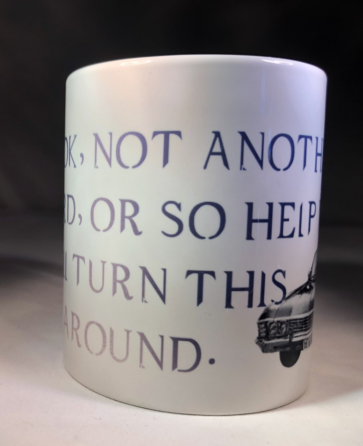 Look, not another word or so help me...  Coffee Mug