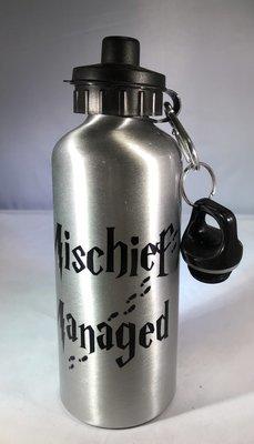Mischief Managed w/feet Water Bottle