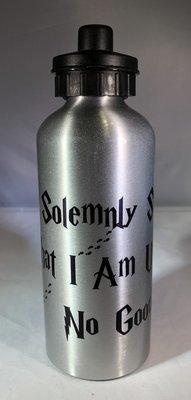 I Solemnly Swear w/feet Water Bottle