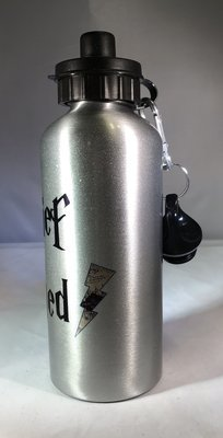 Mischief Managed w/Lightning Bolt Water Bottle