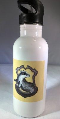 Hufflepuff Crest & Traits Water Bottle