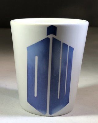 DW TARDIS Shot Glass