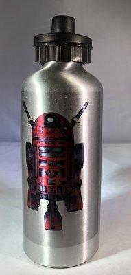 Deadpool R2 D2 Water Bottle