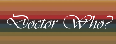 Doctor Who on Stripes Shirt