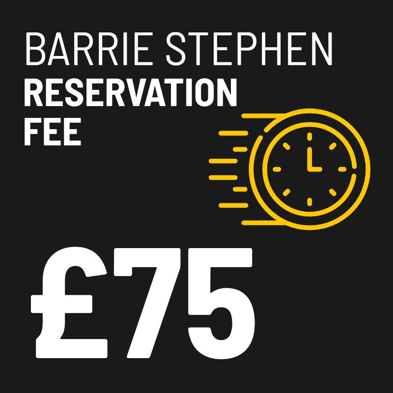£75 Reservation Fee