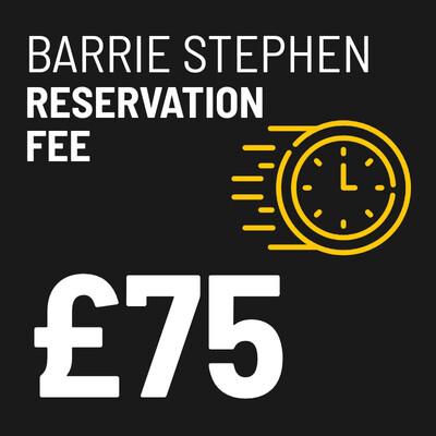 £75 Reservation Fee