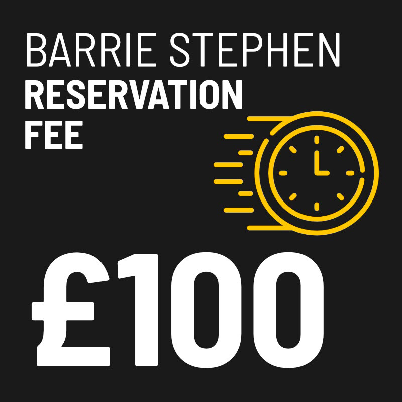 £100 Reservation Fee