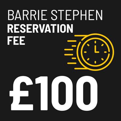 £100 Reservation Fee