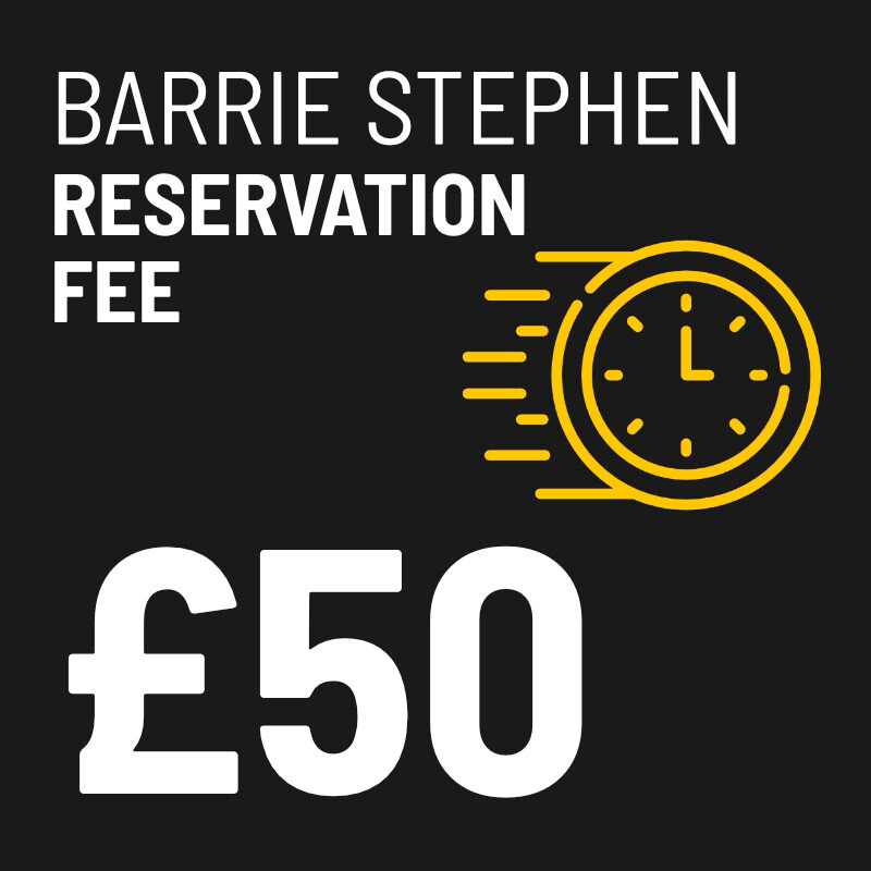 £50 Reservation Fee