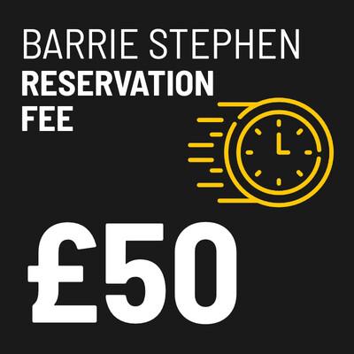 £50 Reservation Fee