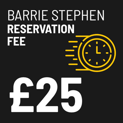 £25 Reservation Fee