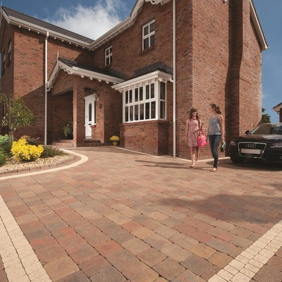 Tobermore - Tegula Block Paving - Mixed Pack - 3 Sizes
