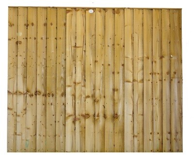 Feather Edge Fence Panel - Green Pressure Treated