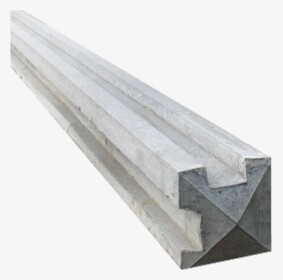 Slotted Corner Concrete Post