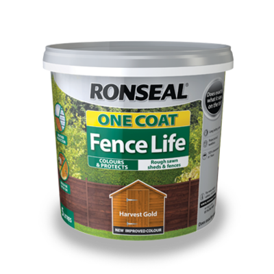 Ronseal 5L One Coat Fence Life