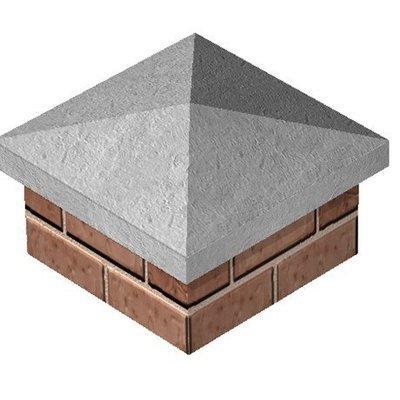 Pillar Cap Grey
