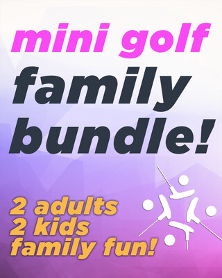 Mini Golf Family Fun
