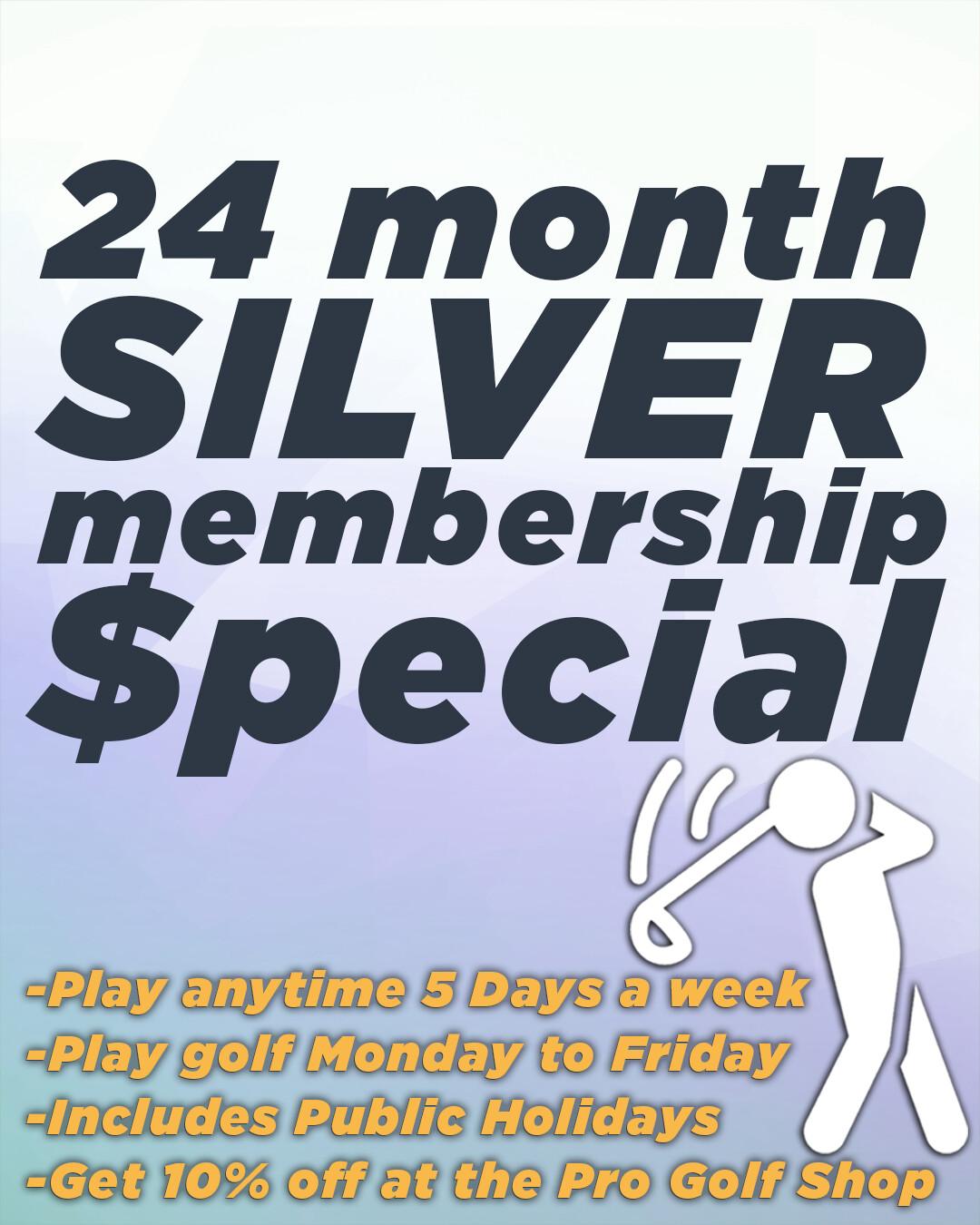 24 Month Silver Membership