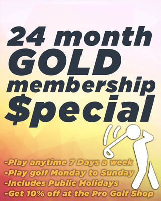 24 Month Gold Membership