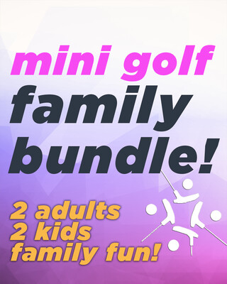 Mini Golf Family Fun