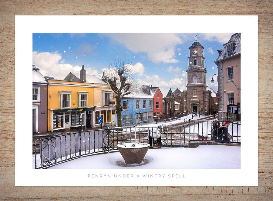10 Christmas Cards - Penryn, Cornwall