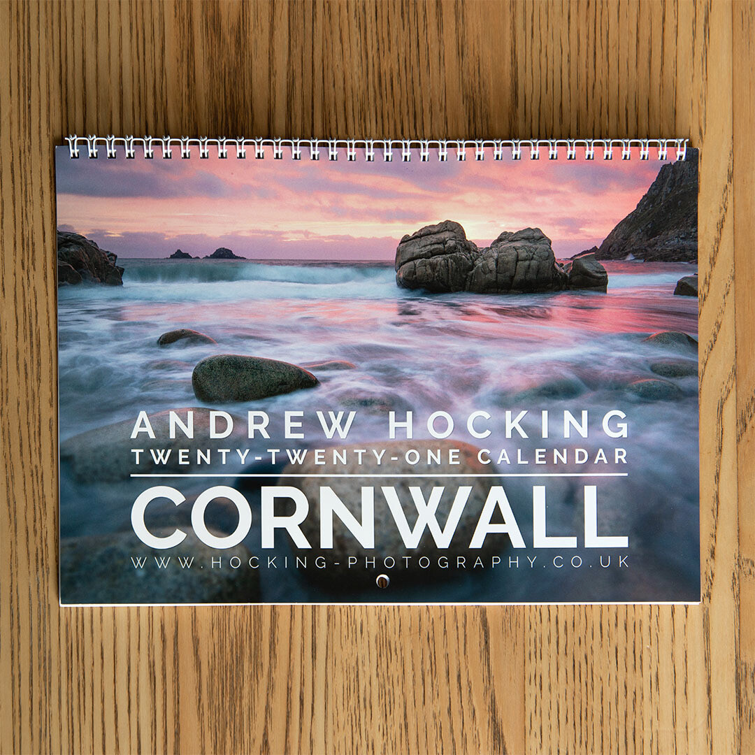 2021 Cornwall Calendar - Andrew Hocking