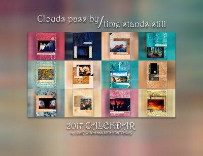 Clouds Pass By Time Stands Still 2017 Calendar