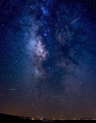Milky-Way Over Alamosa