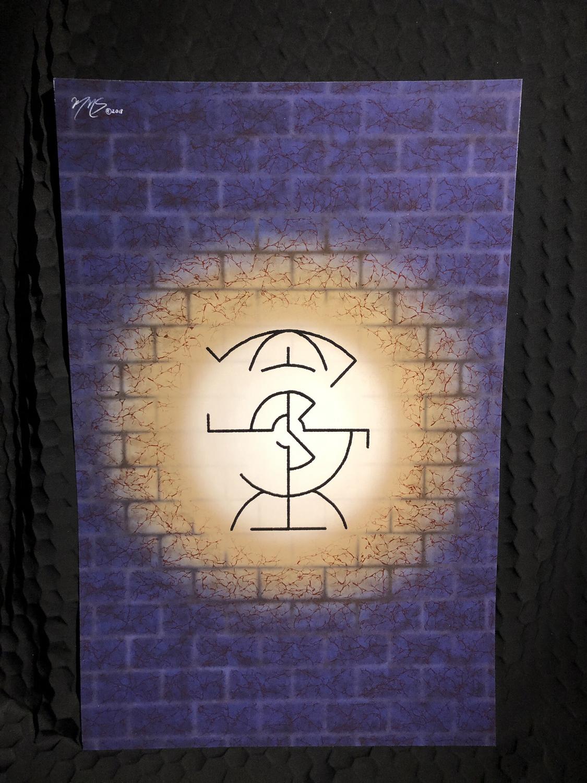Ecalain Rune Poster