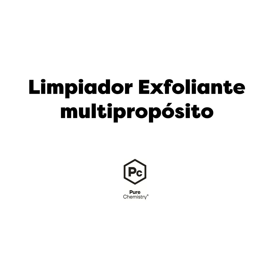 Limpiador Exfoliante Multipropósito- COSMOS ORGANIC ✅