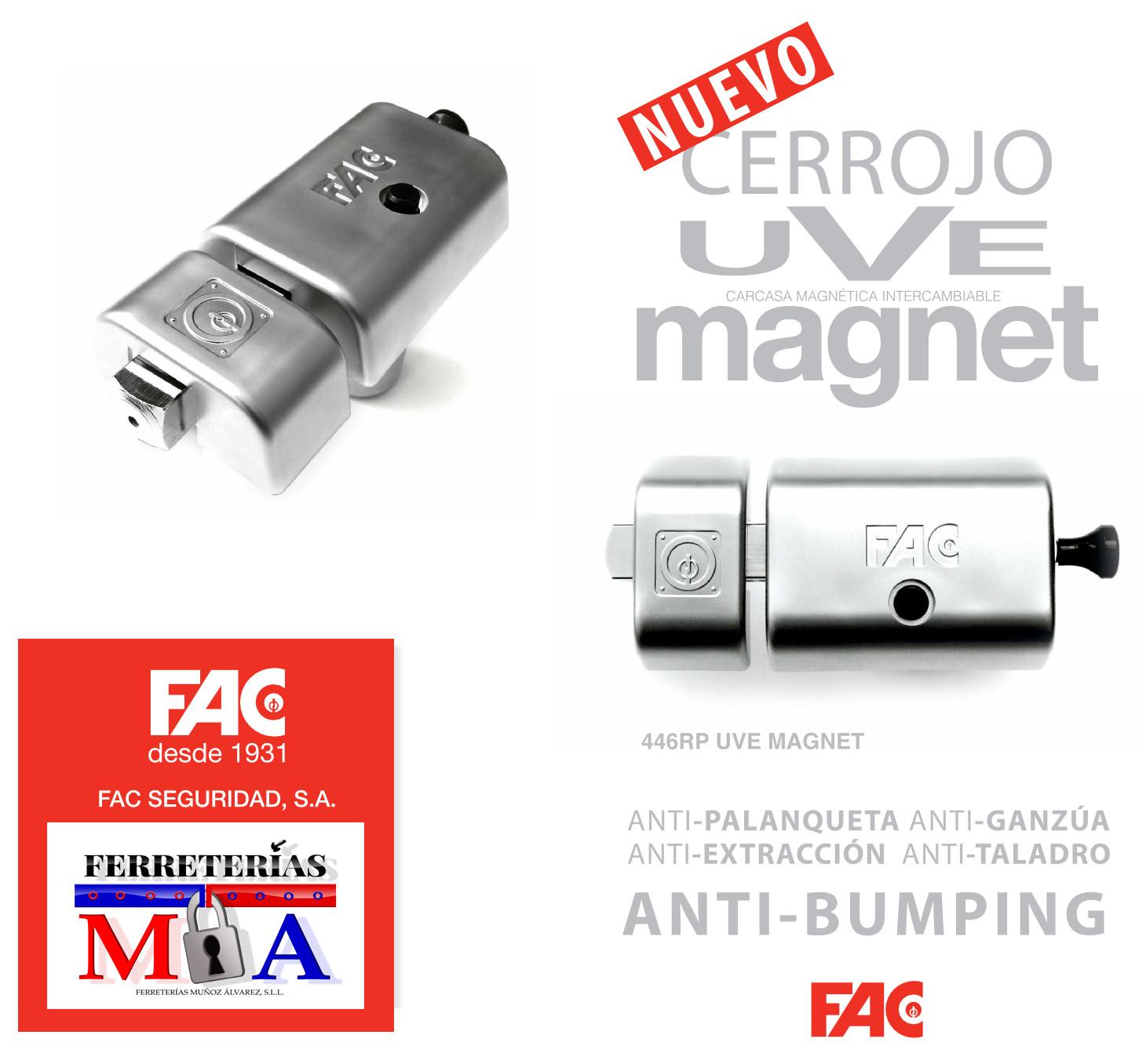 Cerrojo FAC uVe Magnet