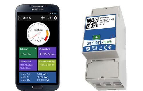myCleantechSmart-me Smart Home & Grid™ für ALLE - smart-me Cloud&App KOSTENLOS & Energiemessgeräte Hardware SET 1 ab...