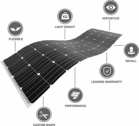 """myCleantechSolarPower™ - PV-Pannel FLEX - flexibles Solarmodul f. gewölbte & runde Dächer & Fassaden """"Selbstmontage / Selbstbau - do it yourself"""" oder Aufbau durch unsere Fachleute zum FIX PREIS ab..."""