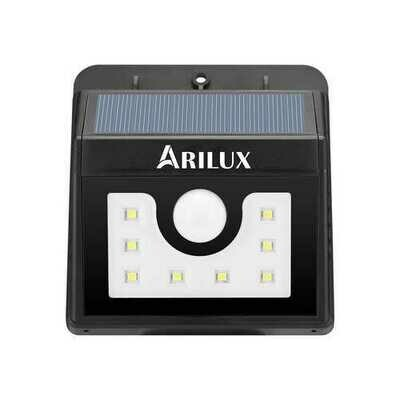 ARILUX PL-SL 01 Super Bright 8 LED Solar PIR Motion Sensor Light Waterproof Outdoor Security Lamp