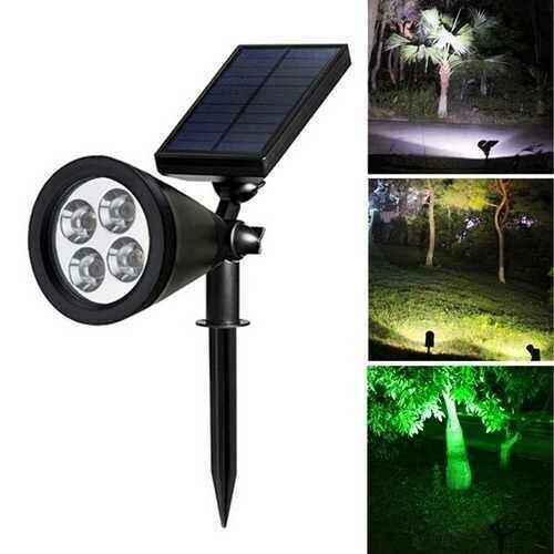 5.5V 1.6W LED Solar Light Outdoor Garden Spot  Security Lamp