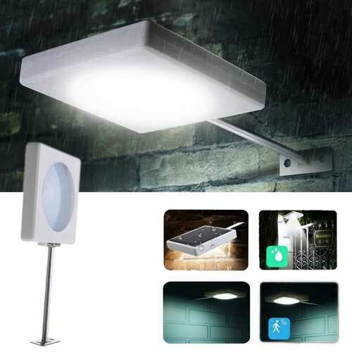 5W LED Solar Power Light Control Wall Light Waterproof Street Light Outdoor Lamp Garden