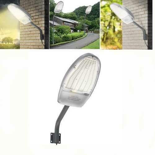 24W Radar Sensor LED Road Street Flood Light Outdoor Garden Spot Security Lamp  AC85-265V