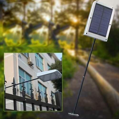 5W Solar Powered PIR Motion Sensor 48 LED Street Light Waterproof Wall Lamp for Outdoor Garden
