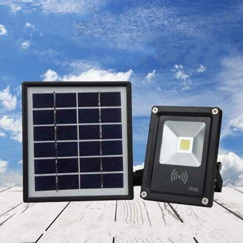 5W Waterproof LED COB Solar Light Radar Motion Sensor Flood Light for Outdoor DC3.7V