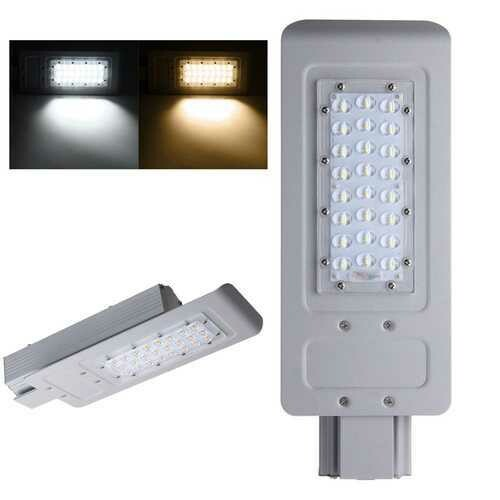 30W 24 LED Street Road Light Waterproof Outdoor Yard Aluminum Industrial Lamp Floodlight AC100-240V