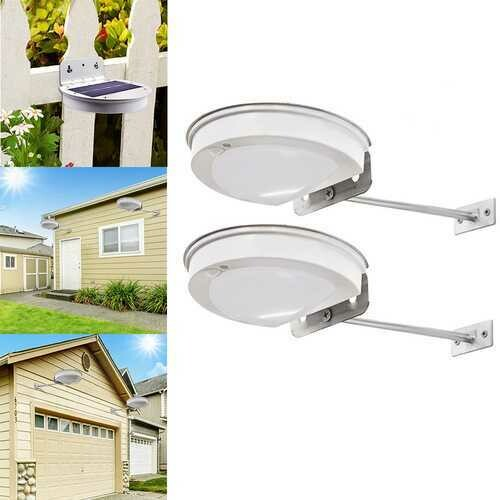 3W 28 LED Solar Powered [IR Motion Sensor Waterproof Wall Light Street Lamp for Outdoor Garden