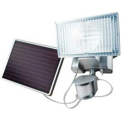 MAXSA Innovations 44449-L 100-LED Outdoor Solar Security Light